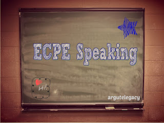 ECPE Stage 2 Speaking Tips