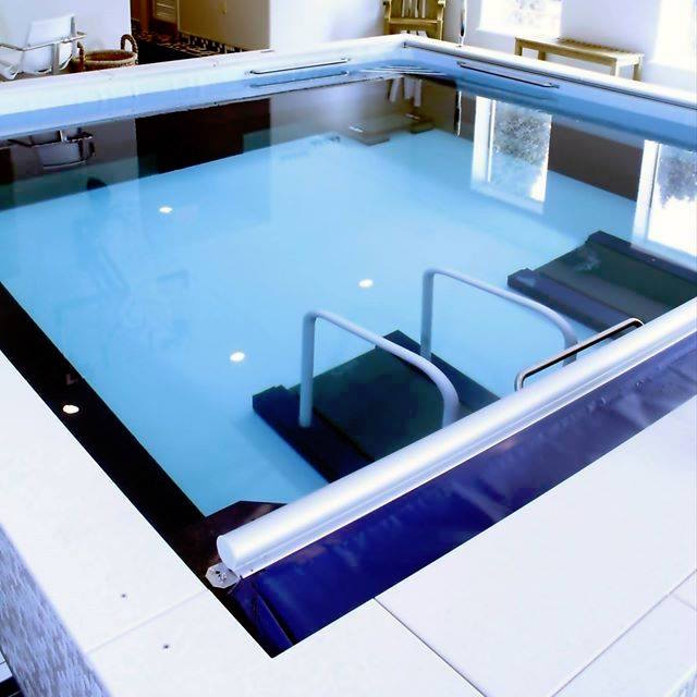 The Dual Propulsion Endless Pool with two Underwater Treadmills at Wise Physical Therapy and Sports Medicine