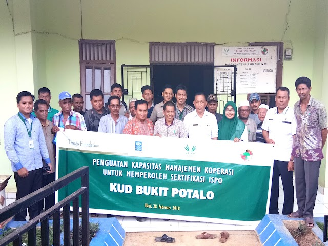 Dukung KUD Bukit Potalo Menghadapi Sertifikasi ISPO, SPOI Project Tanoto Foundation Gelar Pelatihan Manajemen Koperasi