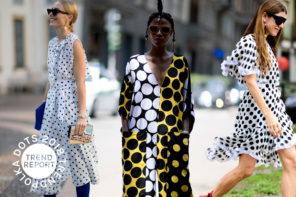 Polka Dots in Fashion