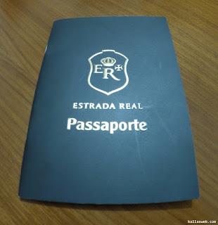 Passaporte da Estrada Real.