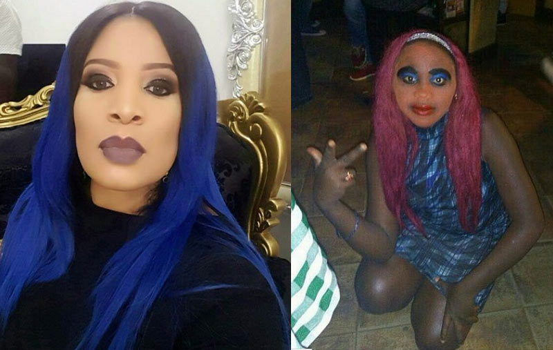 Who rocked the hair better? Monalisa Chinda vs Nigerian girl