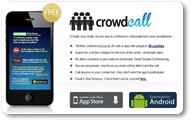 Make Free 10 Calls Daily For Unlimited Time With Crowd Call