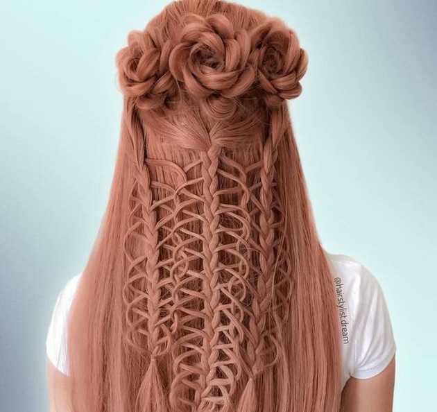 Different hairstyle with new patterns by Milena Diekmann