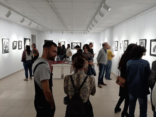 Exposici%25C3%25B3n%2BIan%2BLorenzo 20200122 193044 1 - Fuerteventura.- Inaugurada Exposición de Ian Lorenzo en Casa Cultura de Pueto del Rosario