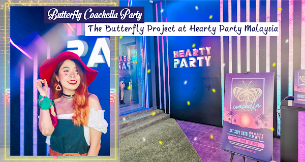Butterfly Coachella Party x The Butterfly Project at Hearty Party Malaysia