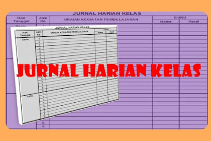 Download Aplikasi Jurnal Kelas Versi 2018