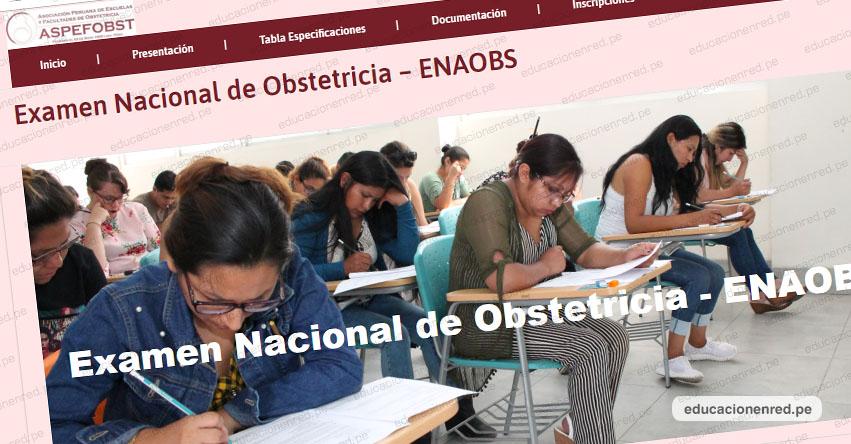 Resultados ENAOBS 2019-1 (Domingo 18 Agosto) Examen Nacional de Obstetricia - www.aspefobst.pe