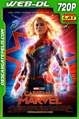 Captain marvel 2019 720p WEB-DL Latino – Inglés