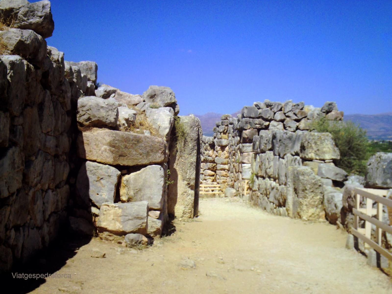 Tirint, Civilització Micènica, Grècia, Peloponès