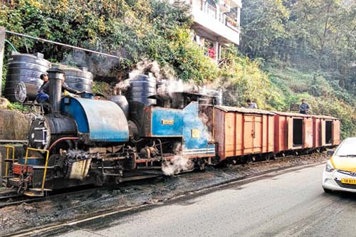 Darjeeling goods toy train