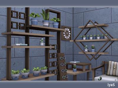 North Star Полярная звезда для The Sims 4 Создайте свой собственный уютный уголок с этим набором. В комплект входят 16 предметов: - диванчик - тумбочка - журнальный столик - полка - стеллаж - декоративный шкаф - часы домино - декоративный велосипед - книга с крошечным растением под стеклом - доска с кактусами - 3 вида кактусов - 3 растения с листьями Автор: soloriya