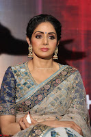 Sri Devi in designer saree stunning beauty at the launch of MOM movie Trailer~  Exclusive 027.JPG