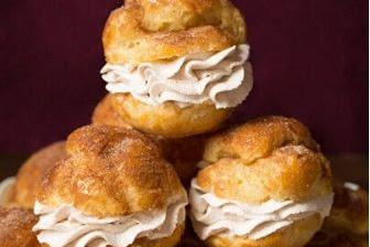 Churro Cream Puffs