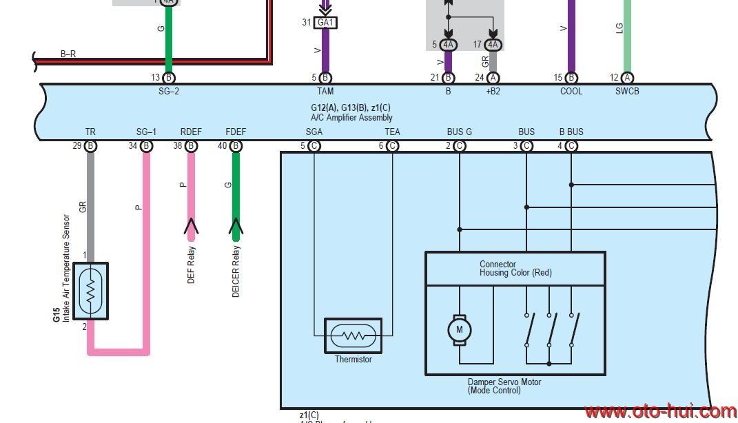 Free Auto Repair Manual : Lexus GX460 2010 Wiring Diagram