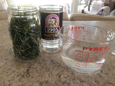 Homemade Fresh Rosemary Spray Cleaner by Fresh Vintage by Lisa S