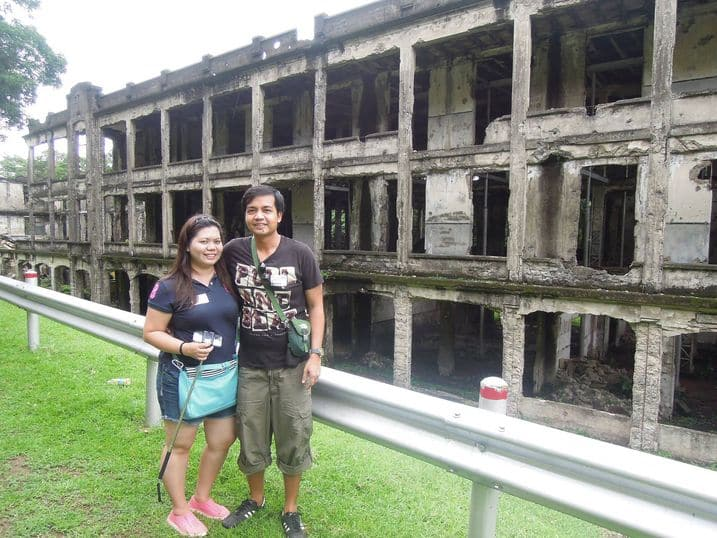 Middleside barracks at Corregidor Island