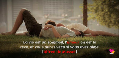 "Citation d""amour d'Alfred de Musset"