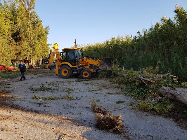 Τελευταίες δράσεις του τομέα καθαριότητας στο Δήμο Ναυπλιέων