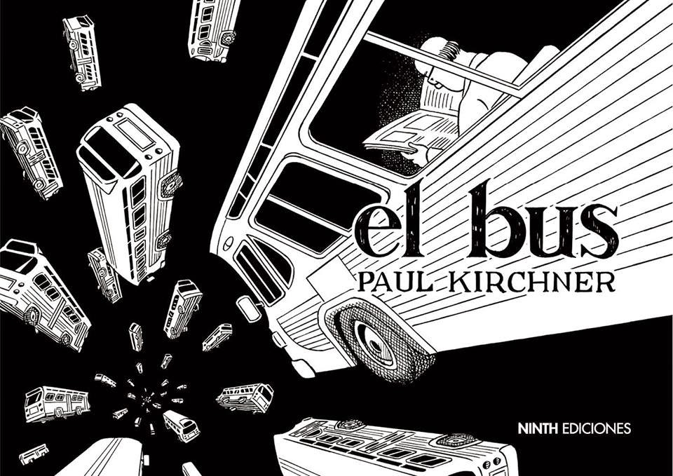 El Bus de Paul Kirchner, Ninth ediciones. Comic Recopilatorio de las tiras Heavy metal