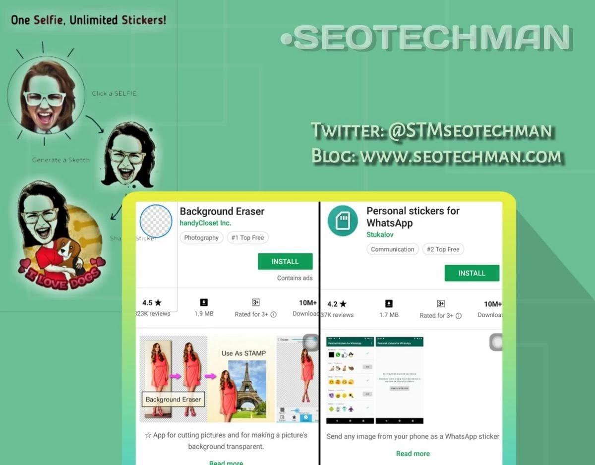 8 Cara Membuat Stiker Di Whatsapp Pakai Foto Sendiri Dengan Mudah