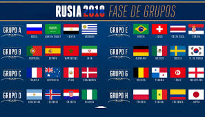 Calendario do Mundial 2018 Em Russia