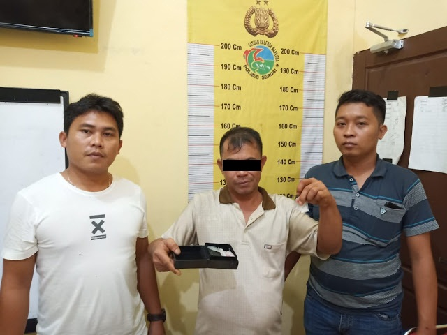 Bolak Balik masuk penjara, BD Sabu Ini Kembali Ditangkap Tekab Polsek Perbaungan