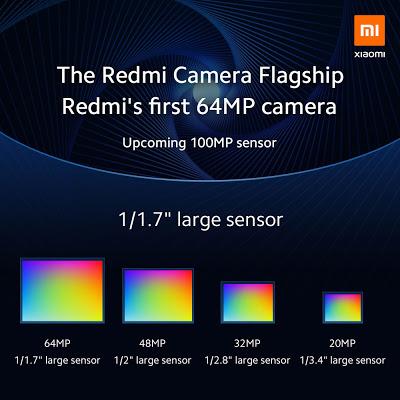 شركة شياومي ستقدم نسخ هواتفها من فئة Redmi بكاميرا دقتها 64 ميغابيكسل