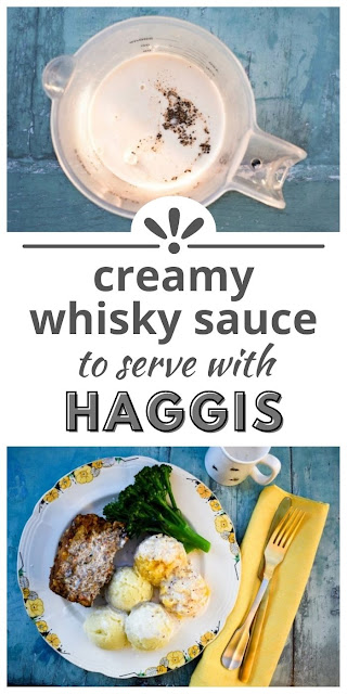 creamy whisky sauce for haggis