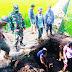 Babinsa Desa Bagendit Koramil 1110/Banyuresmi Kodim O611/Garut, Monitoring Pekerjaan Jembatan Alternatif.