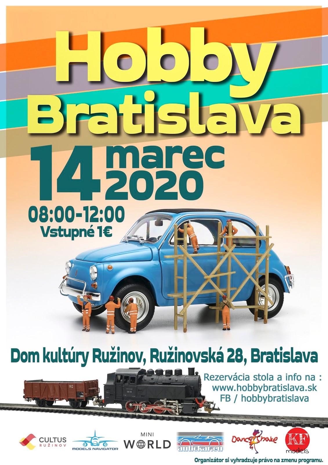 Poster hobby bratislava 2020