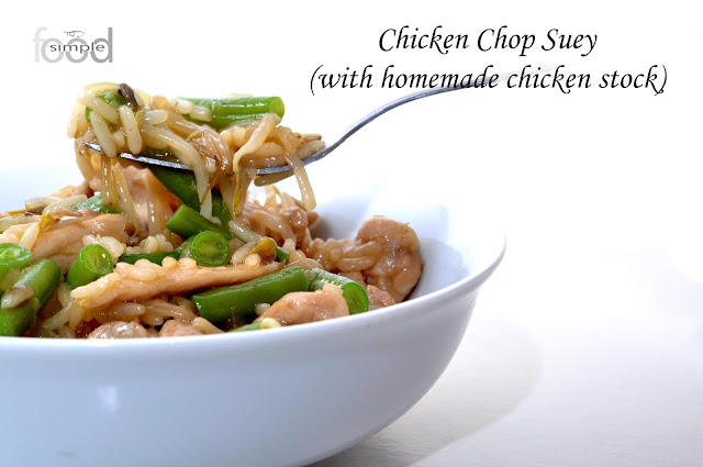 Chicken Cop Suey ~ Simple Food