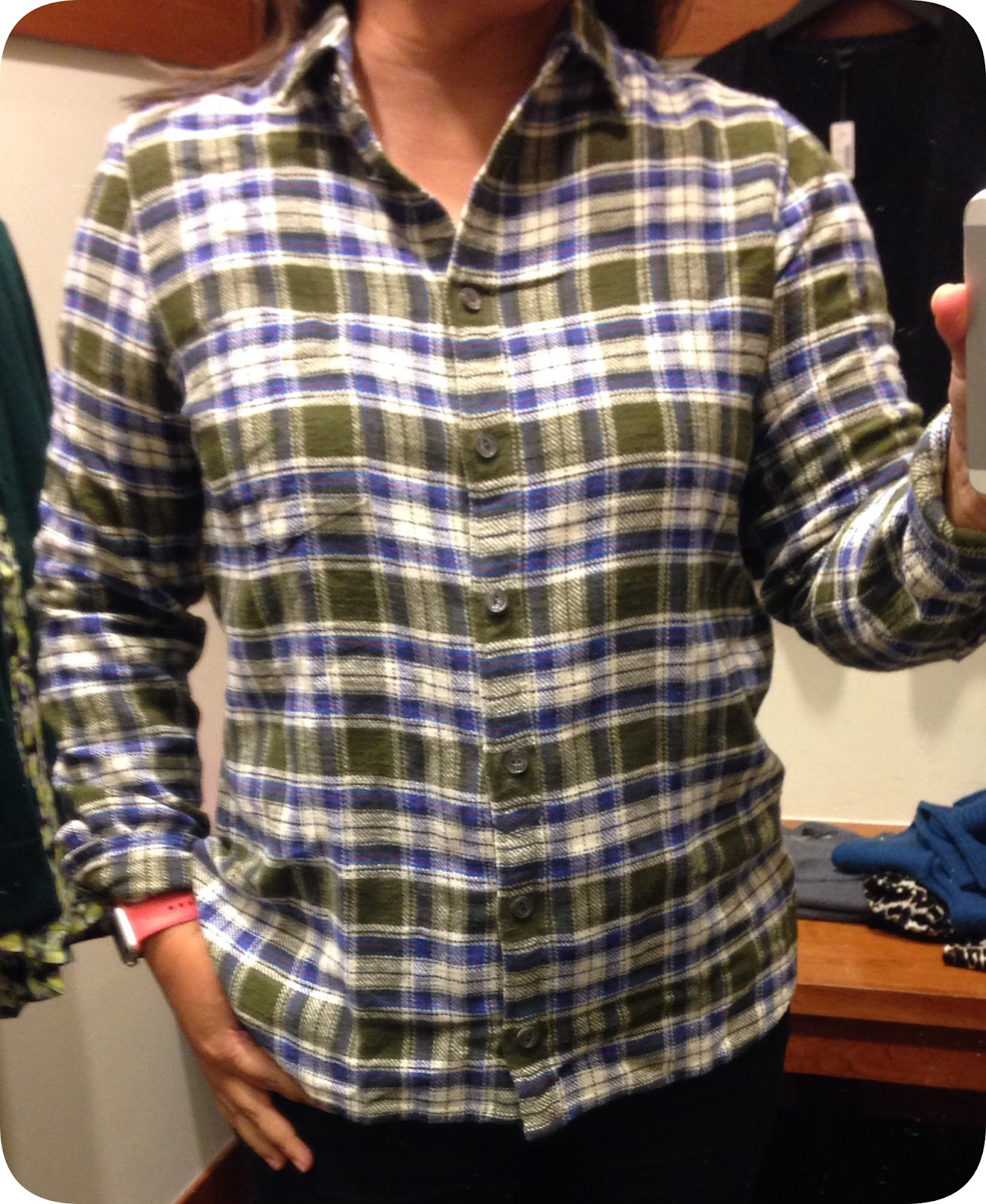 214854cf The olive green is just as saturated IRL as it is online and what  originally drew me to this shirt.