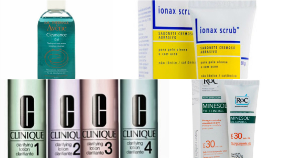 dicas produtos tratamento pele oleosa