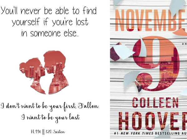REZENSION || NOVEMBER 9 ~ COLLEEN HOOVER