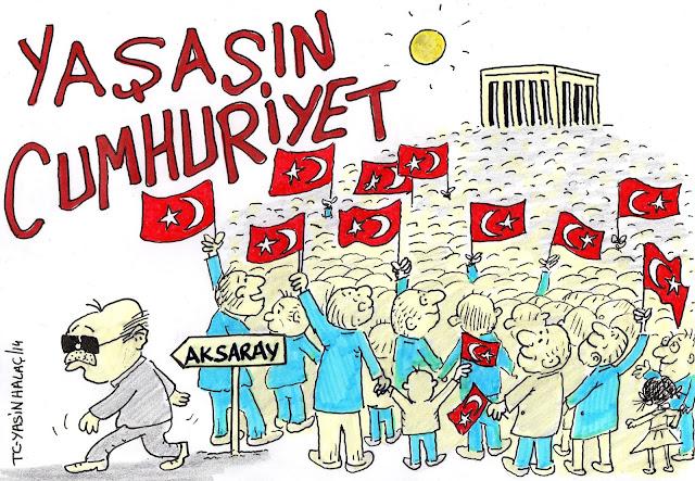 cumhuriyet bayramı tayyip karikatür