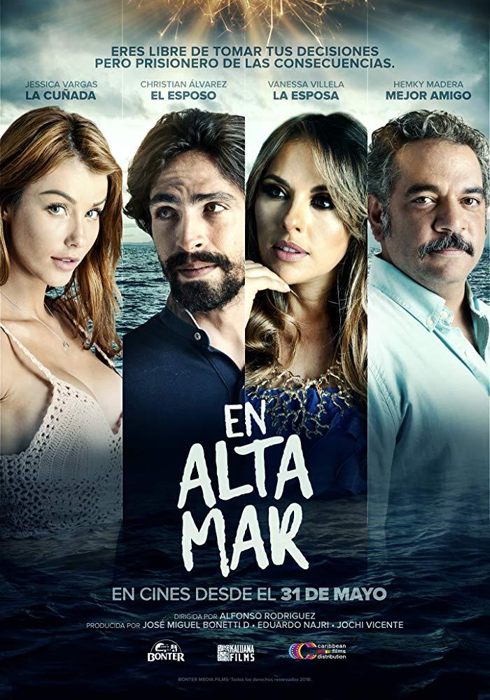 En Altamar 2018 HD 1080p Español Latino poster box cover