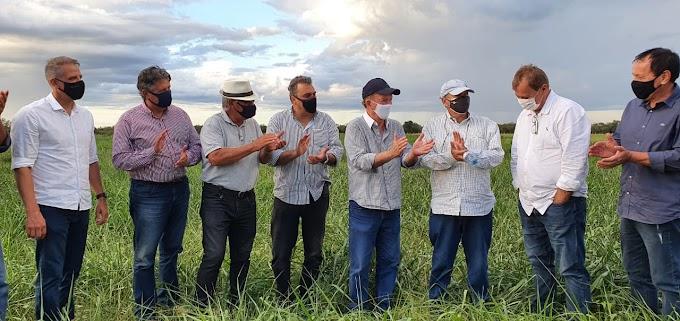 Em Barra, vice-governador inaugura usina solar na Fazenda Escola Modelo
