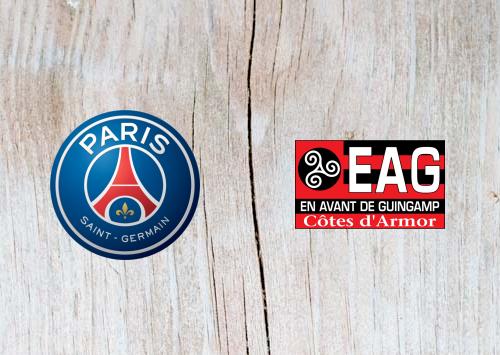 PSG vs Guingamp Full Match & Highlights 9 January 2019