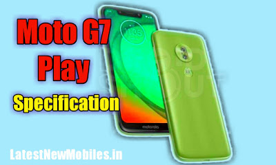 Moto G7 Play Specification