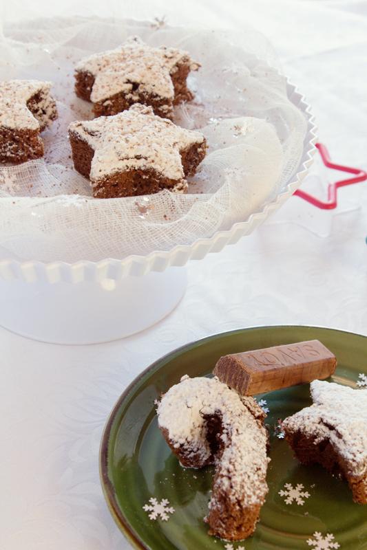 Receta Brownie Navidad