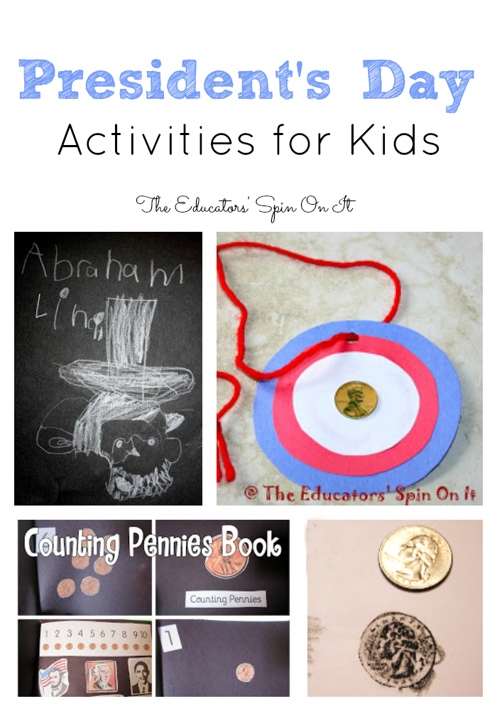 President S Day Activities For Kids The Educators Spin