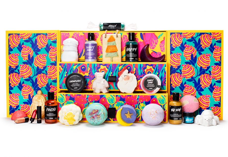 Kalendarz Adwentowy z kosmetykami 2019 Lush Advent Calendar 2019