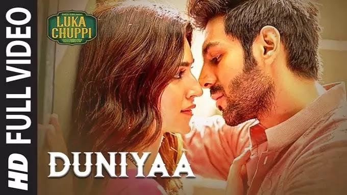 Duniya Lyrics | Duniya Luka Chuppi | Luka Chuppi Full Movie Song lyrics | Duniya Song Lyrics |