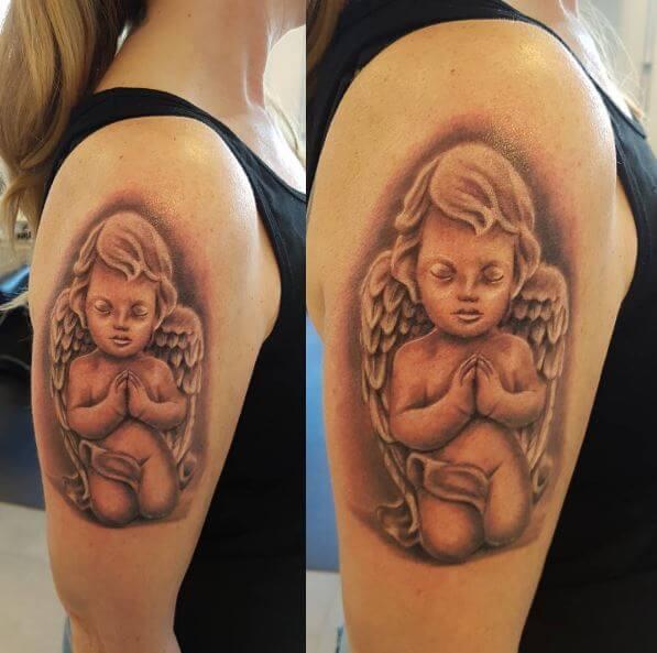 50 Beautiful Angel Tattoos For Men 2019 Devil Demon