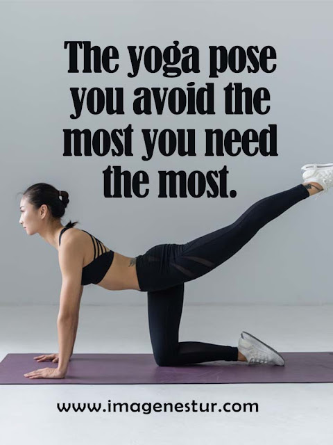 The yoga pose you avoid the most you need the most