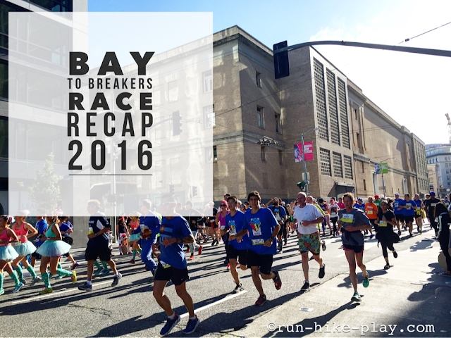 Bay To Breakers Race Recap 2016