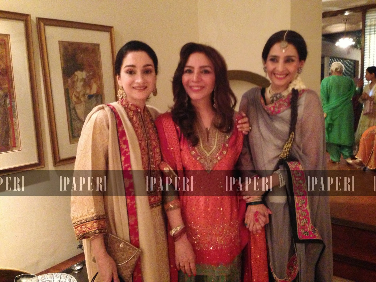 Waseem Akram Sisters Wedding Pictures Unseen