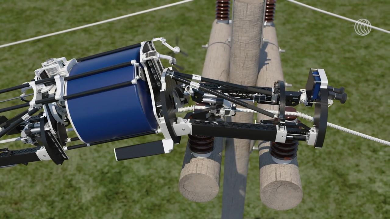 New Fiber-Spinning Robotic Technology