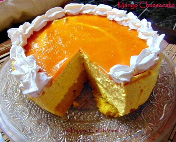 Mango Cake Using Condensed Milk